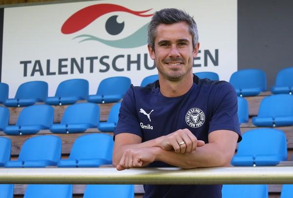 Zurück im Storchennest: Fin Bartels unterschrieb bei der KSV einen Zweijahresvertrag und steigt heute ins Mannschaftstraining ein. Foto: Holstein Kiel