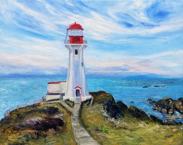 Terrill Welch | Sheringham Point Lighthouse (2020) | Available for Sale | Artsy