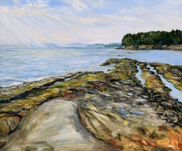 Terrill Welch | Morning Rays Reef Bay (2020) | Available for Sale | Artsy
