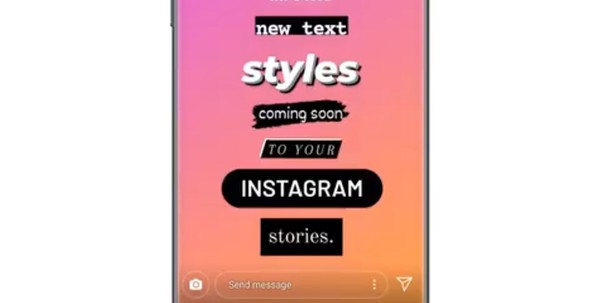 New fonts to try in Instagram Stories