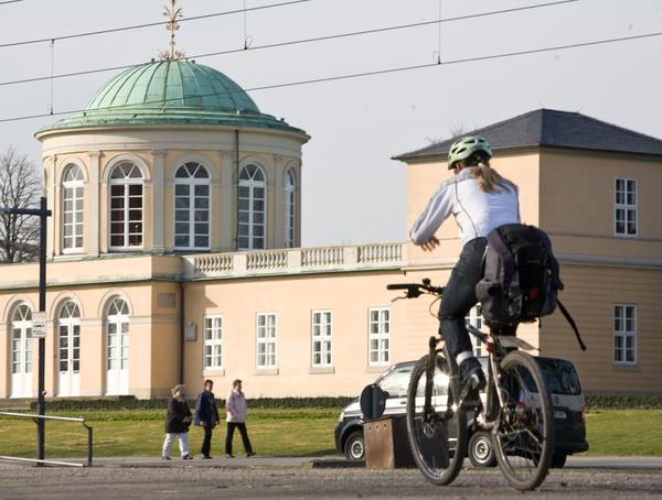 Die Tour führt am Berggarten in Herrenhausen vorbei. (Foto: Florian Wallenwein)