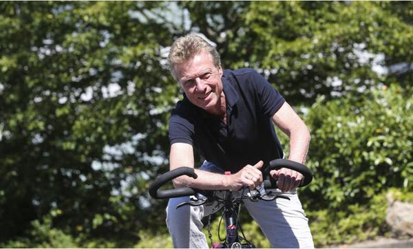 HAZ-Reporter Bernd Haase, beruflich und privat viel mit dem Rad unterwegs, empfiehlt auch eine Tour auf dem gesamten Aller-Radweg. (Foto: Michael Thomas)