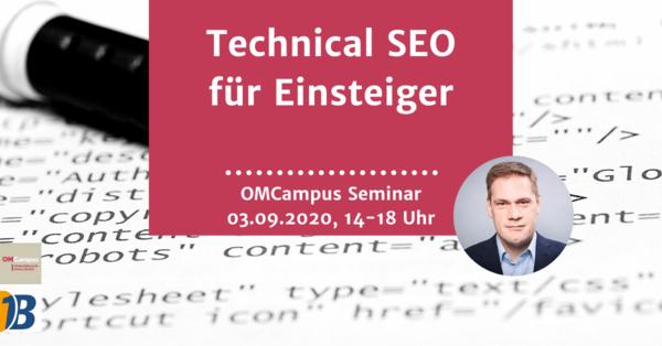 """Wissensvorsprung made by Bloofusion: """"Technical SEO für Einsteiger"""""""