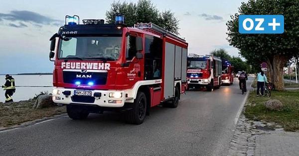 Aufsehenerregende Einsätze für die Feuerwehren aus Boltenhagen und Klütz