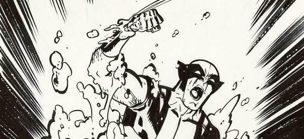 Chris Samnee - Wolverine Original Cover Art