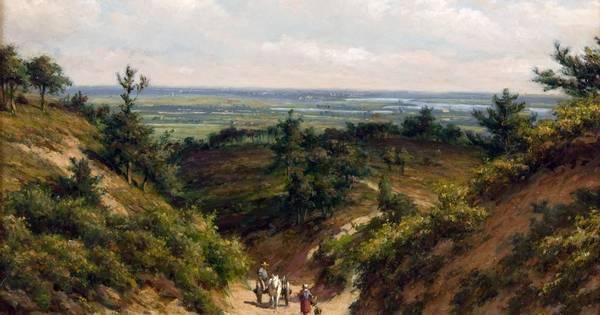 Na Het Valkhof stap je letterlijk het landschap uit het schilderij binnen: 'Binnenste Buitenland' | gelderlander.nl