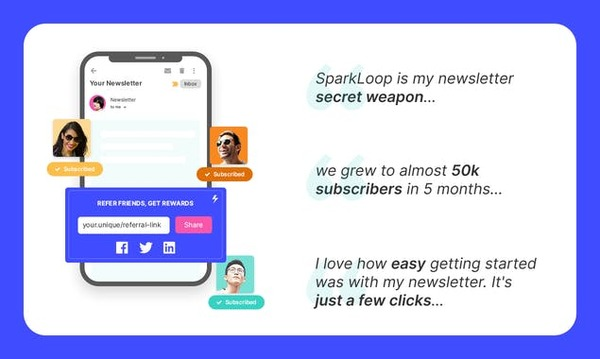 Grow your email audience with a referral program that actually works