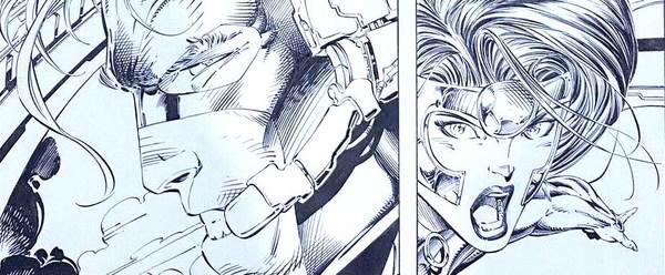 Jim Lee - Wildcats Original Comic Art