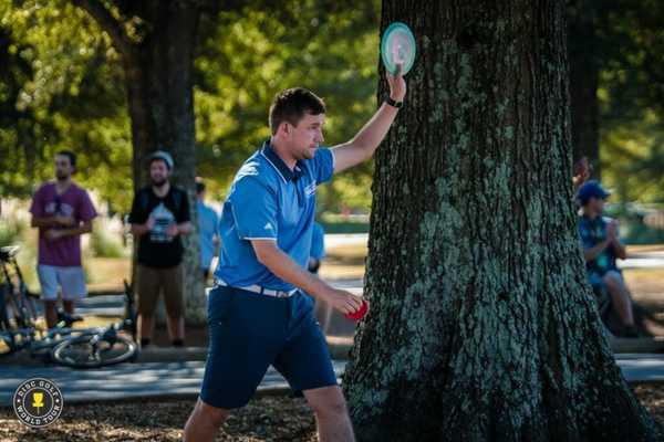 Nate Sexton at USDGC. Photo: Eino Ansio - Disc Golf World Tour.
