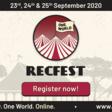 RecFestOneWorld - One Industry. One World. Online.