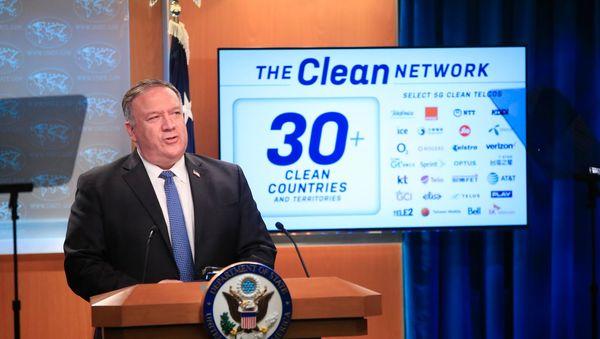 """US-Außenminister Pompeo fordert ein """"sauberes"""" Internet ohne chinesischen Einfluss - DER SPIEGEL - Netzwelt"""