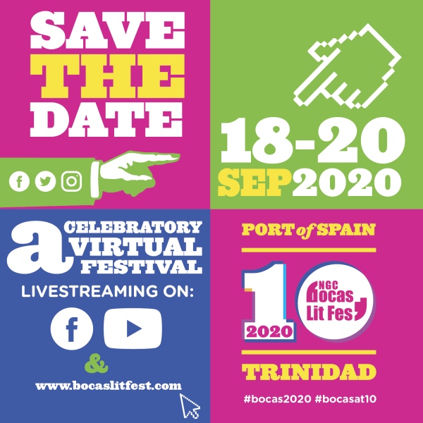 Mark Your Calendars! NGC Bocas Lit Fest 2020