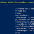Recover deleted D365 PowerApp environment using PowerShell