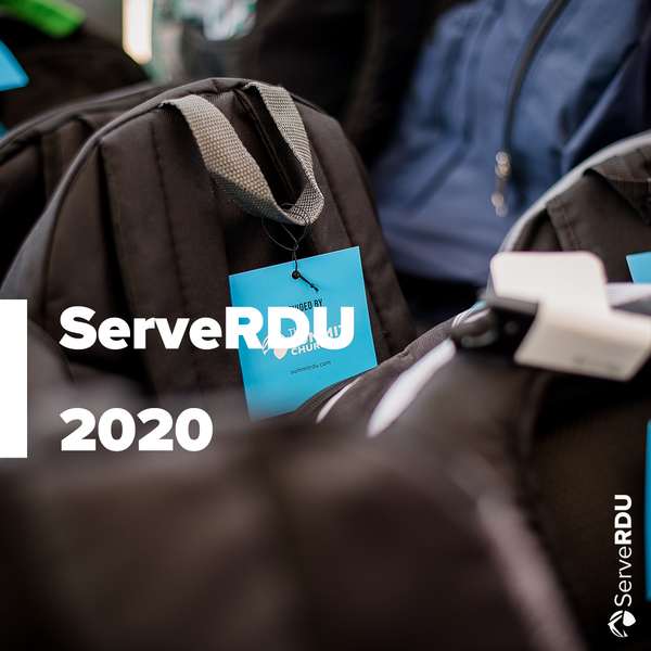 It's ServeRDU Week! Though things look different this year, we are excited to love our neighbors. Find out ways to pray, serve, and connect with us at summitchurch.com/serverdu!
