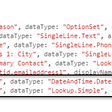 How to get additional column values in PCF Dataset Control using addColumn()