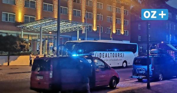 Stralsund: Feuer-Alarm im Hotel Baltic – Gäste mussten Zimmer verlassen