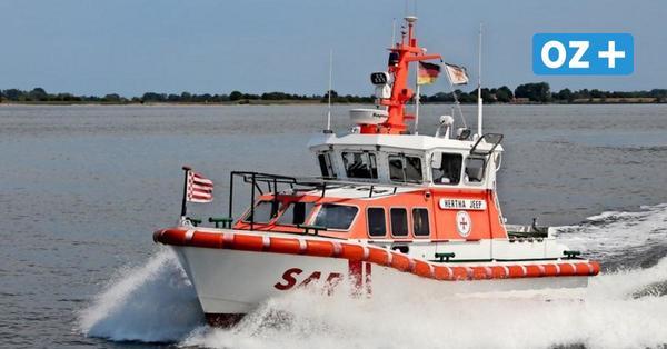 Stralsund: Boot kentert vor der Sundpromenade