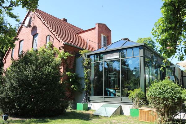 Das Seehotel in Nakenstorf am Neuklostersee (Foto: Haike Werfel)