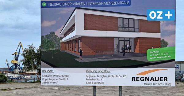 Wismarer Seehafen baut neue Unternehmenszentrale für drei Millionen Euro