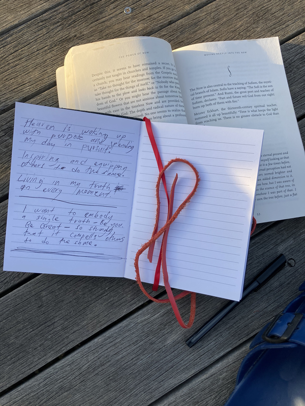Books and notes.