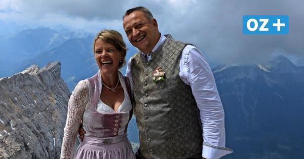 """Wismarer sagen """"Ja"""" auf Deutschlands höchstem Berg"""