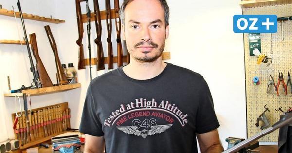 Büchsenmachermeister aus Neukloster erklärt: So werden Waffen gefertigt