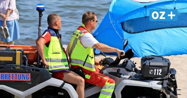 Rettungsschwimmer auf Usedom schlagen Alarm: Darum kommen sie nur schwer zu Einsatzorten