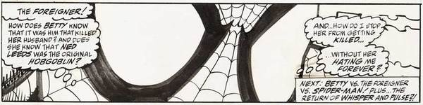 Alex Saviuk - Spider-Man Original Comic Art