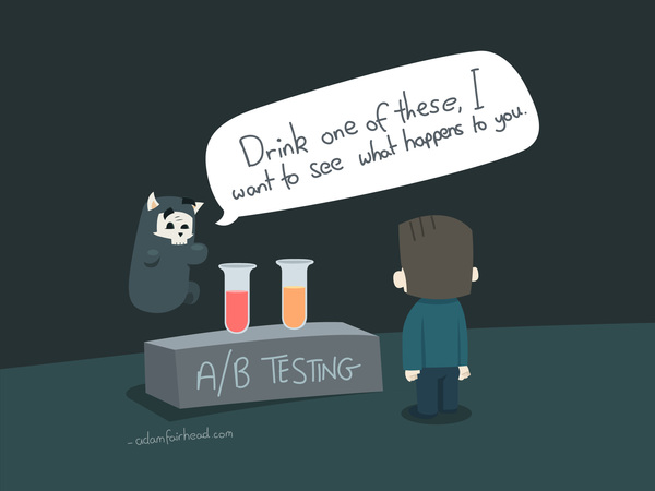 Do you test things in your marketing? Don't be like Mort...