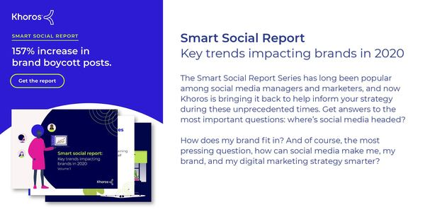 Smart social report: Key trends impacting brands in 2020