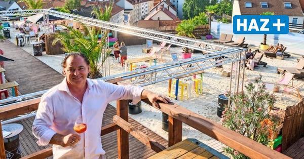 Strandwärts im Bredero-Hochhaus: Das ist Hannovers neueste Beach Bar