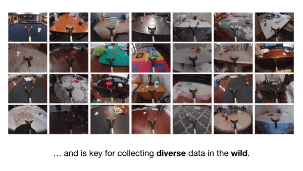 AI researchers devise cheap data collection method to scale training robots