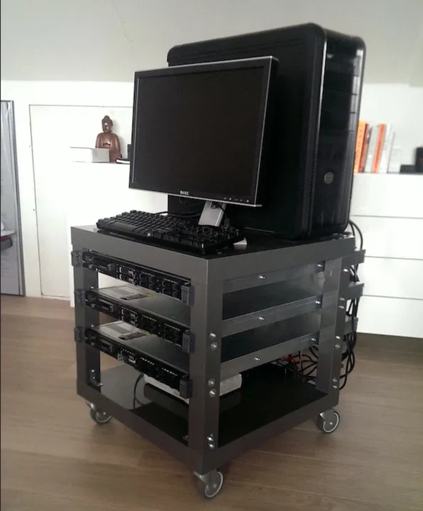 Stack that crap with a Lack rack hack.