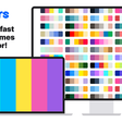 Coolors - The super fast color schemes generator!