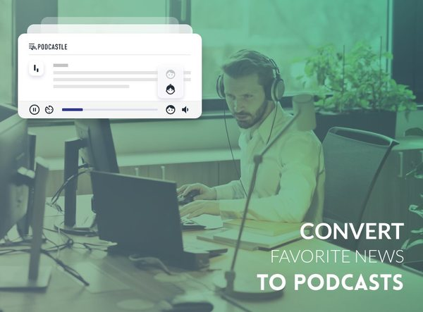 Podcastle - Convert your favorite news and articles to podcasts