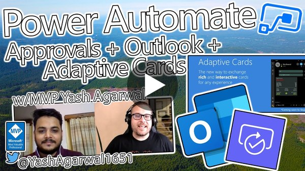 Power Automate Tutorial - Approvals + Adaptive Cards + Outlook = Awesome