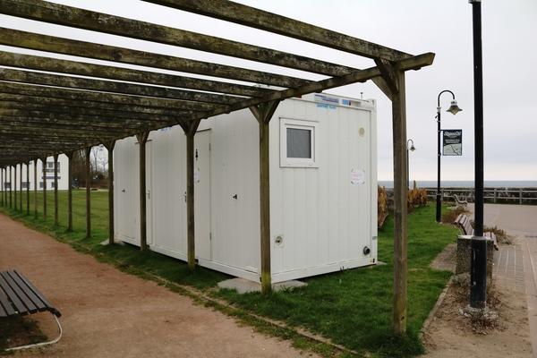 Toiletten im Ostseebad Nienhagen (Foto: Lennart Plottke)