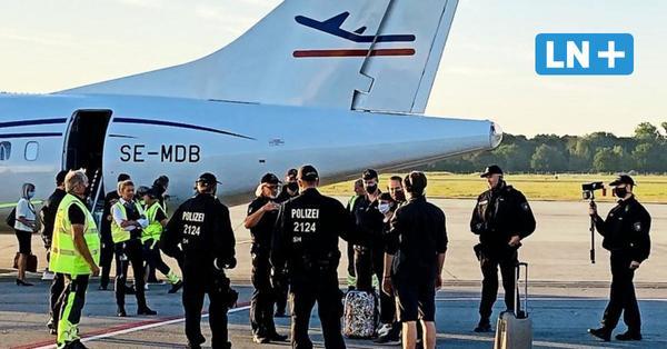 Lübeck Air: Protest verzögert Start des ersten Linienflugs nach München