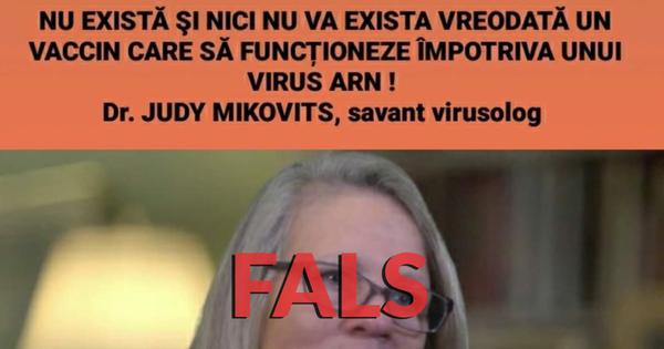 Poza asociată postărilor despre afirmația lui Mikovits