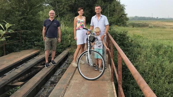 Une idée de véloroute pour rejoindre les gares d'Hazebrouck et Poperinge - Facebookpagina roept op om via fietsroute stations van Hazebrouck en Poperinge met elkaar te verbinden