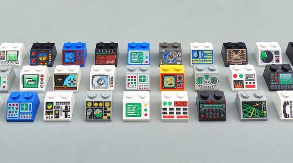 The UX of LEGO Interface Panels