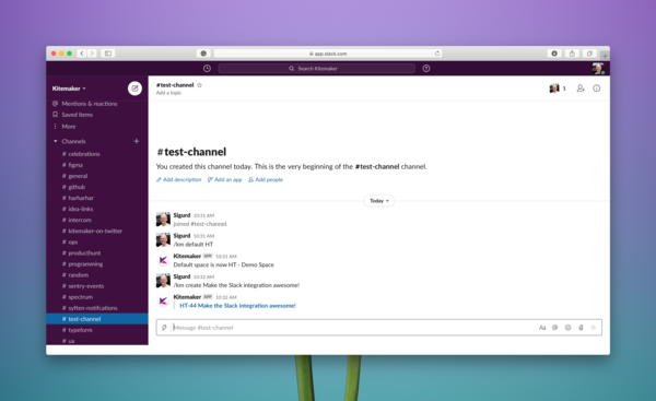 You can also create issues without leaving Slack