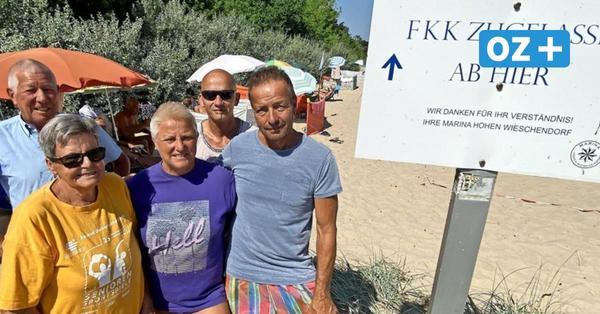 Nach Beschwerden von Urlaubern in Hohen Wieschendorf: FKK-Fans sollen umziehen