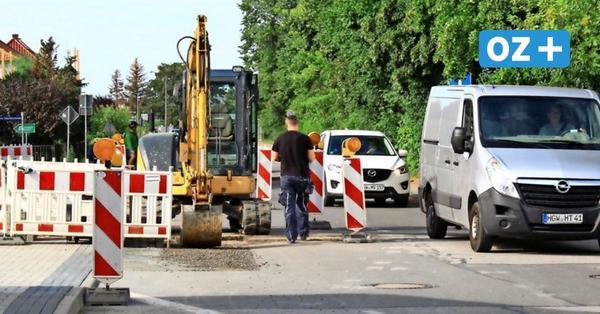 Greifswald: Bauarbeiten in der Loitzer Straße bald beendet