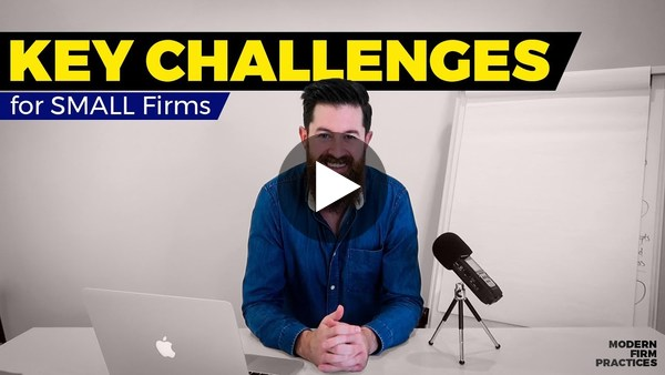 Key Challenges For Small Firms - Brad Turville