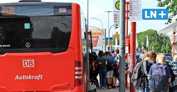 Kreis Segeberg: Volle Schulbusse werden zur Corona-Gefahr
