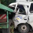 URGENT: 4 morts dans un accident de la circulation sur l'axe Yaoundé-Sangmelima (IMAGES)