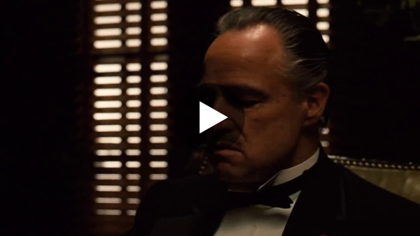 The Godfather I Opening scene HD