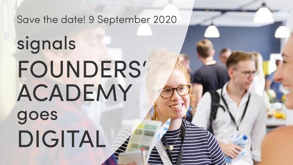 signals Founders' Academy 2020 Tickets, Mi, 09.09.2020 um 14:00 Uhr | Eventbrite