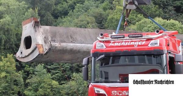 Wenn 27 Tonnen nicht bewegt werden dürfen